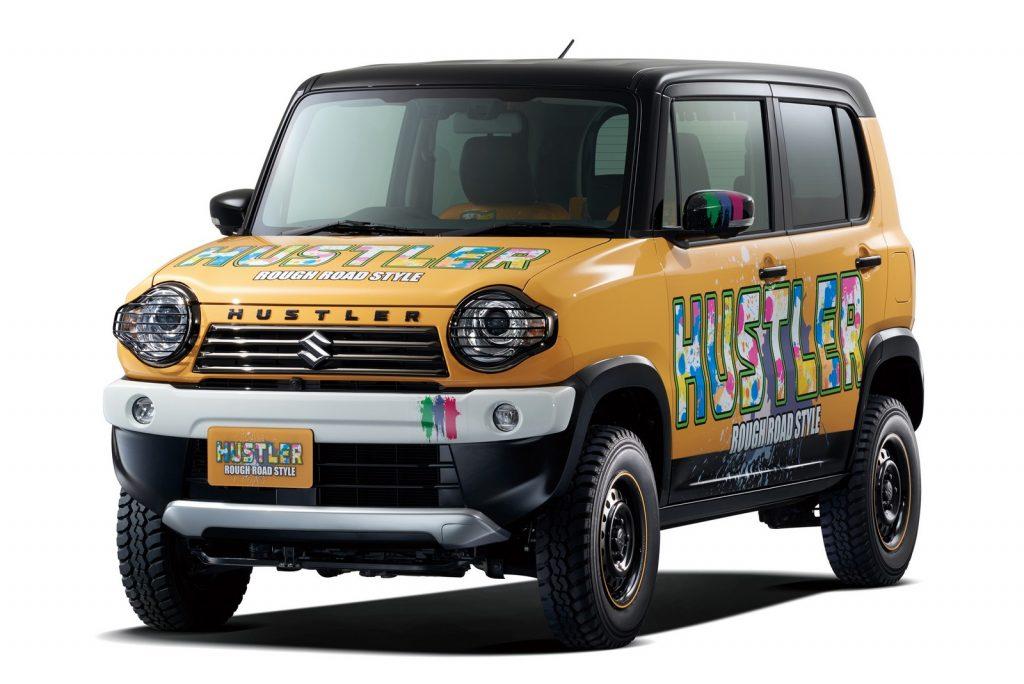 Concept SUZUKI HUSTLER ROUGH ROAD STYLE